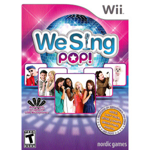 WeSing Pop Video Game for Nintendo Wii