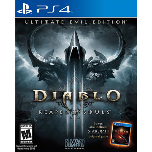 Diablo III Ultimate Evil Edition Video Game for Sony PlayStation 4