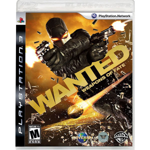 Wanted Weapons of Fate Video Game for Sony PlayStation 3