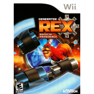 Generator Rex Agent of Providence Video Game for Nintendo Wii
