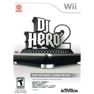 DJ Hero 2 Video Game for Nintendo Wii