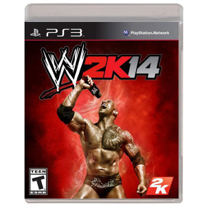 WWE 14 Video Game for Sony PlayStation 3