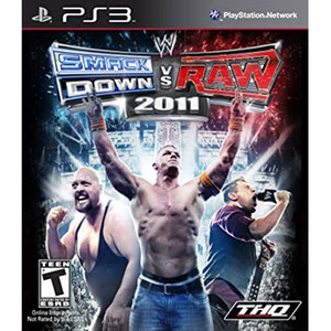 SmackDown vs Raw 2011 Video Game for Sony PlayStation 3
