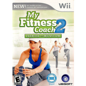 My Fitness Coach 2 Exercise and Nutrition Video Game for Nintendo Wii
