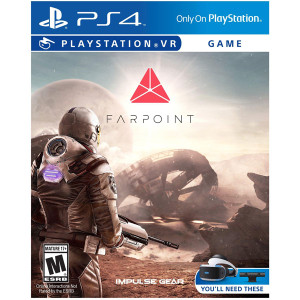 FarPoint VR Video Game for Sony PlayStation 4