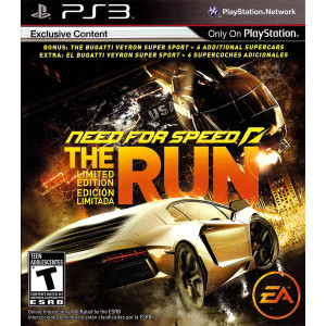 Need for Speed The Run Limited Edition Video Game for Sony PlayStation 3