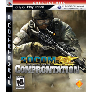Socom Confrontation Video Game for Sony PlayStation 3
