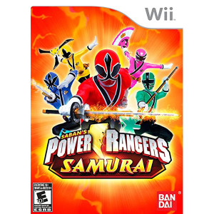 Power Rangers Samurai Video Game for Nintendo Wii