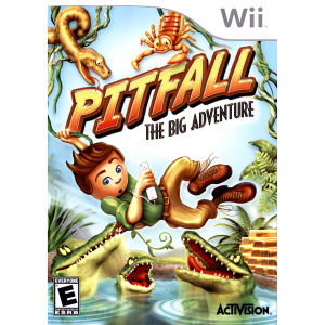 Pitfall The Big Adventure Video Game for Nintendo Wii