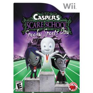 Casper's Scare School Spooky Sports Day Video Game for Nintendo Wii