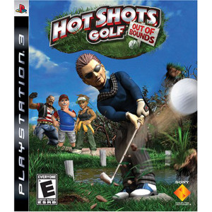 Hot Shots Golf Out of Bounds Video Game for Sony PlayStation 3