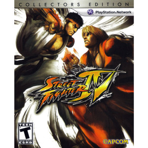 Street Fighter IV Collectors Edition Video Game for Sony PlayStation 3