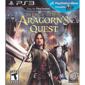 Lord of the Rings Aragorn's Quest Video Game for Sony PlayStation 3