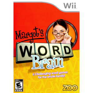 Margot's Word Brain Video Game for Nintendo Wii