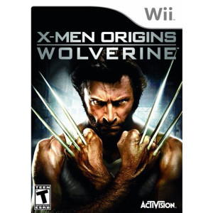 X-Men Origins Wolverine Video Game for Nintendo Wii