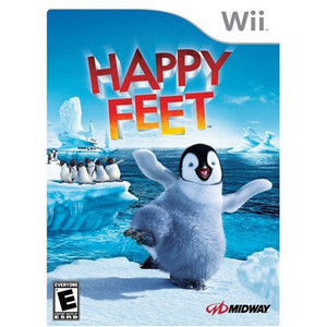 Happy Feet Video Game for Nintendo Wii
