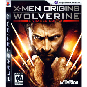 X-Men Origins Wolverine Uncaged Edition Video Game for Sony PlayStation 3