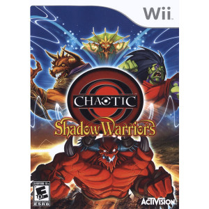 Chaotic Shadow Warriors Video Game for Nintendo Wii