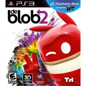de Blob 2 Video Game for Sony PlayStation 3