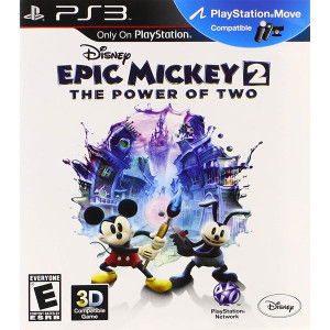 Epic Mickey 2 Video Game for Sony PlayStation 3