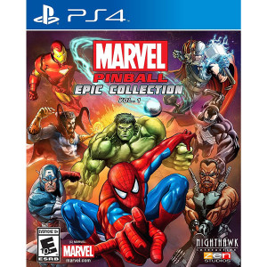 Marvel Pinball Epic Collection Vol. 1 Video Game for Sony PlayStation 4