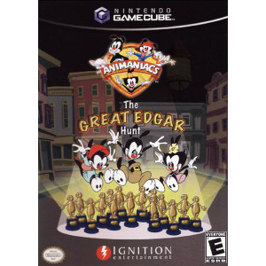 Animaniacs The Great Edgar Hunt Video Game for Nintendo GameCube