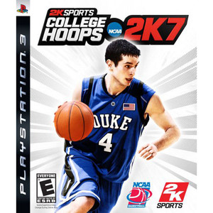 College Hoops 2k7 Video Game for Sony PlayStation 3