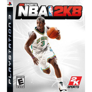 NBA 2k8 Video Game for Sony PlayStation 3