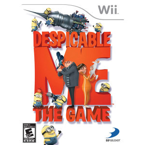 Despicable Me The Game for Nintendo Wii
