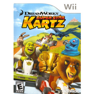 Dreamworks Super Stars Kartz Video Game for Nintendo Wii