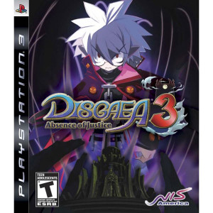 Disgaea 3 Absence of Justice Video Game for Sony PlayStation 3
