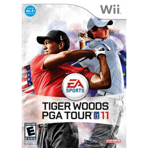 Tiger Woods PGA Tour 11 Video Game for Nintendo Wii