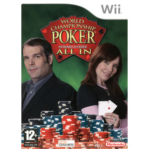 World Championship Poker All In Video Game for Nintendo Wii