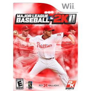 Major League Baseball 2K11 Video Game for Nintendo Wii