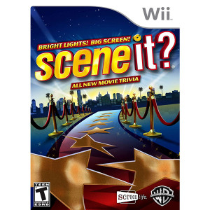 Scene It? Bright Lights! Big Screen! Video Game for Nintendo Wii