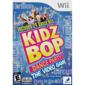 Kidz Bop Dance Party! Video Game for Nintendo Wii