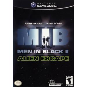 Men in Black II Alien Escape Video Game for Nintendo GameCube