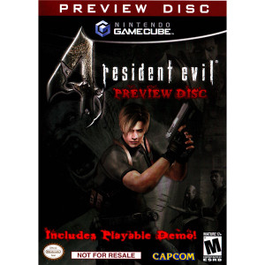 Resident Evil 4 Preview Disc Video Game Preview for Nintendo GameCube
