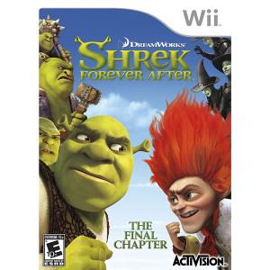 Shrek Forever After Video Game for Nintendo Wii