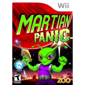 Martian Panic Video Game for Nintendo Wii