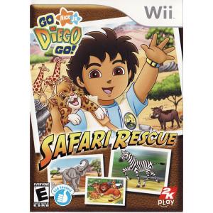 Go Diego Go! Safari Rescue Video Game for Nintendo Wii