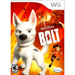 Bolt Video Game for Nintendo Wii