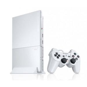 Sony PlayStation 2 Slim White PS2 Player Pak