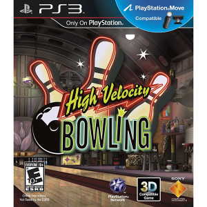 High Velocity Bowling Video Game for Sony PlayStation 3