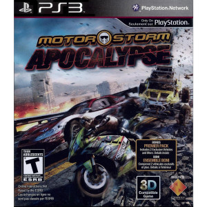 Motor Storm Apocalypse Video Game for Sony PlayStation 3