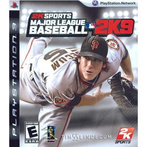 Major League Baseball 2K9 Video Game for Sony PlayStation 3