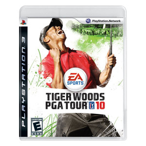 Tiger Woods PGA Tour 10 Video Game for Sony PlayStation 3