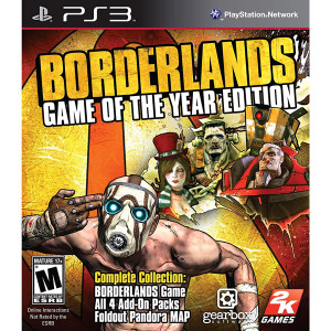 Borderlands Game of the Year Edition Video Game for Sony PlayStation 3