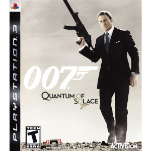 007 Quantum of Solace Video Game for Sony PlayStation 3