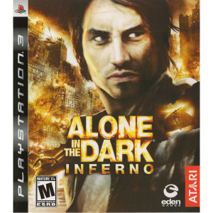 Alone in the Dark Inferno Video Game for Sony PlayStation 3